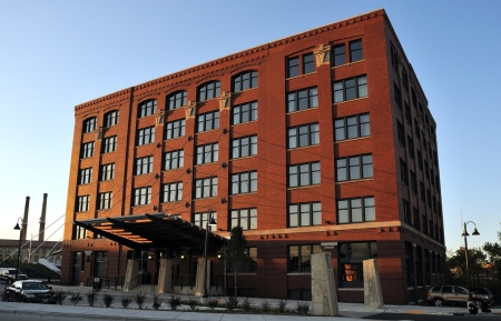 The Iron Horse Hotel in Milwaukee, Wisconsin